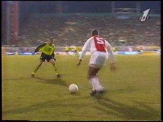 Лига чемпионов 1995 1996 1 4 финала Первый матч Боруссия Дортмунд Аякс