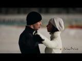 Танец машин и фигуристов на льду.очень красиво