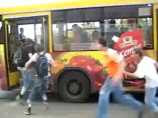 Прикол в автобусе :D