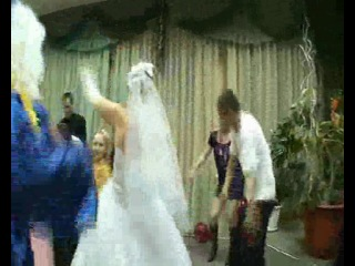 свадьба кафе Транзит 2011