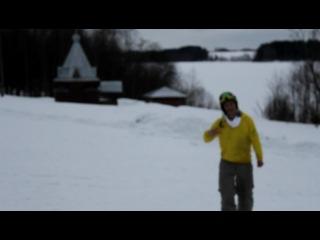 Весёлые сноубордисты