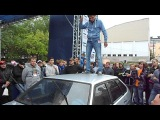 АМТ 2012 Финал ВАЗ 2109 GarajMan и ШумОФФ на Крыше...