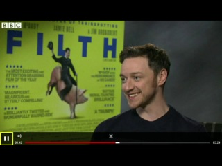 James McAvoy on his nastiest role