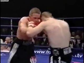 2002-02-09 Ricky Hatton vs Mikhail Krivolapov (World Boxing Union light welterweight title)
