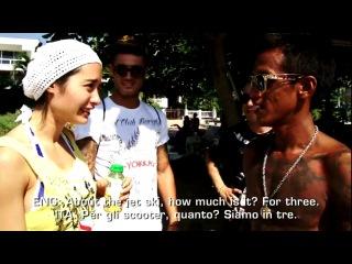 Muay thai combat tv 9: stefania picelli model & yokkao events promoter