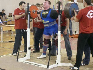 Тимур Гадиев - присед 415 кг на чемпионате ПФО 2010
