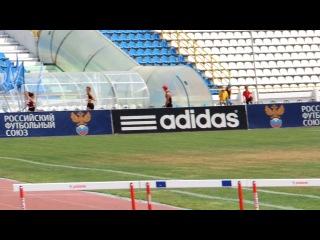 Бегу 300 м с барьерами. 05.08.2012