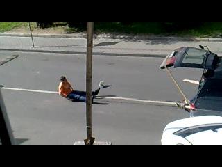 Ежегодный священный ритуал выпускников Бауманки))