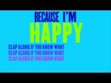 Pharrell Williams feat. Minions - Happy