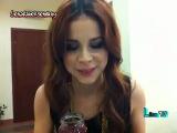 Lena TV In der V-I.P. Lounge in Baku + In der Garderobe beim Himbeeren naschen