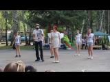 1 отряд. Танец под музыку из мультфильма