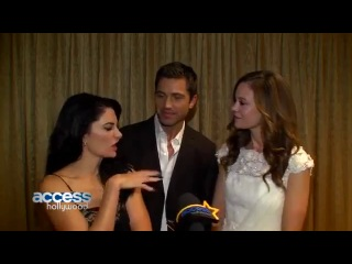 Rachel boston, madchen amick & eric winter talk lifetime's witches of east end