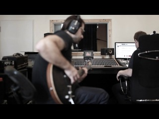 Long Distance Calling recording Guitars @ Megaphon Tonstudios - Studioreport 3 - September 2012
