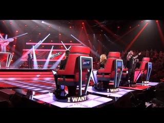 Luke kennedy sings un giorno per noi - a time for us- the voice australia season