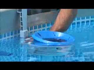 Скиммер для очистки поверхности воды в бассейне
