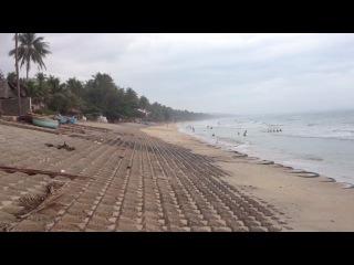 Кокосовый пляж в Муйне, Вьетнам