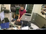 046 [Studio Webcam] tapolsky #time2bass OLEG K & LIME KID 14-11-2012 #kissfmua live