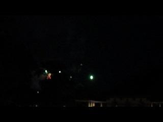 Feuerwerk in Palmen Garten 2012