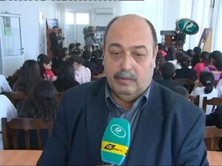 11 rayonu təmsil edən 55 şagird Xaçmazda biliklərini sınadı