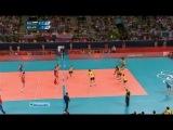 ХХХ Летние ОИ / Волейбол / Мужчины / Финал Россия - Бразилия (2 часть)