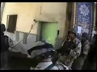 Камера на шлеме американского солдата, Багдад