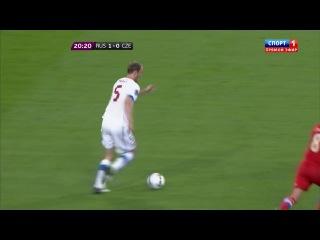[Футбол | ЧЕ 2012 | Россия - Чехия | 08.06.2012 | 1 тайм]