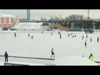 Травма Александра Кузнецова в матче Водник-Волга