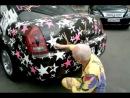 А Песков росписывается на машине Ровалса