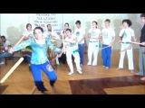 Capoeira Angola Palmares. открытая рода 12.10.2013. часть 7. макулеле