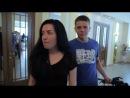 Андрюша и Оксана в Царицынском ЗАГСе