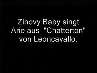 Ария Чаттертона в исполнении Зиновия Бабия.