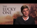 Facebook Fan Questions with Zac Efron - The Real Lucky One