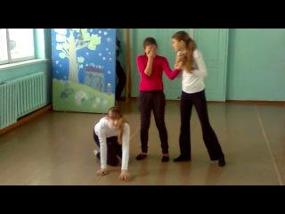репитиция к 23 февраля ипанский танец-мое детище