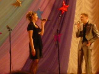 вместе ты и я, пою с Василием Крупенько на бенефисе Ирины Анатольевны Павловой