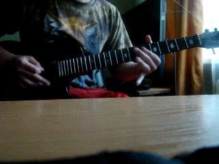 Мой кавер на соло из Metallica-Creaping Death