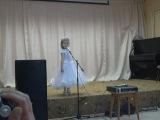 Выступление крестницы Киры в Петров-Вале.