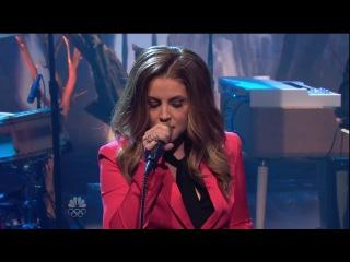 Lisa Marie Presley - You Ain't Seen Nothing Yet (Jay Leno 2012) HD
