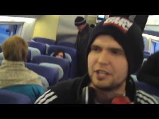 Noize MC Куплет Бред сивой кобылы + Фристаил в поезде