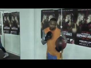 Тренировка Рой Джонсона / Roy Jones Jr Training