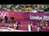 Viktoria Komova VT - 2012 Olympics qual