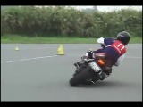 Japan Police moto test