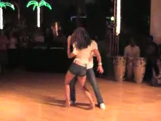 Открытый урок по Клубной Латине, красивый страстный танец Бачата