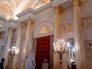 Екатерининский зал Большого дворца в Царицыно.
