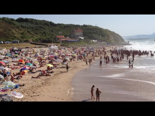 Пляж Блю Карго, часть 2, Бидарт, Франция, 17 авг 2012