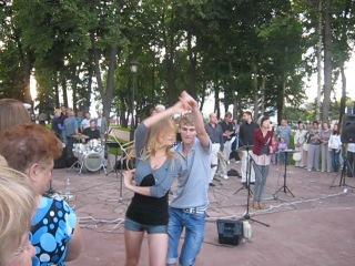 Академик-бенд. выступление на летней площадке Филармонии