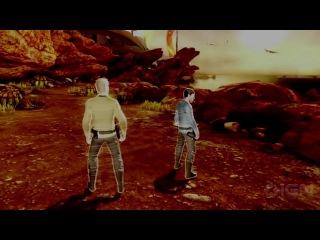Трейлер игры Звездный Путь (голоса Криса и Закари Куинто)