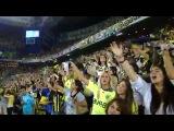The presence of 40,000 cheerleaders Fenerbahce