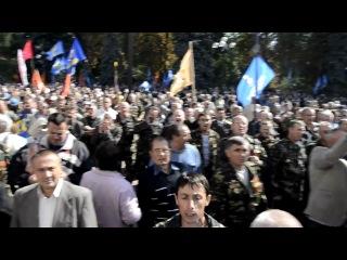 Афганцы штурмуют Верховную Раду Украины!