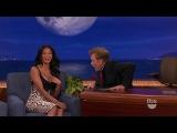 Conan show — Nicole Scherzinger / Николь Шерзингер на шоу Конана (rus sub)