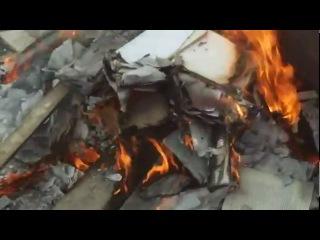 НАШИ ГЛЮКИ. Бедные болящие (бесноватые) рабы Божие сжигают книги професора А.И Осипова.